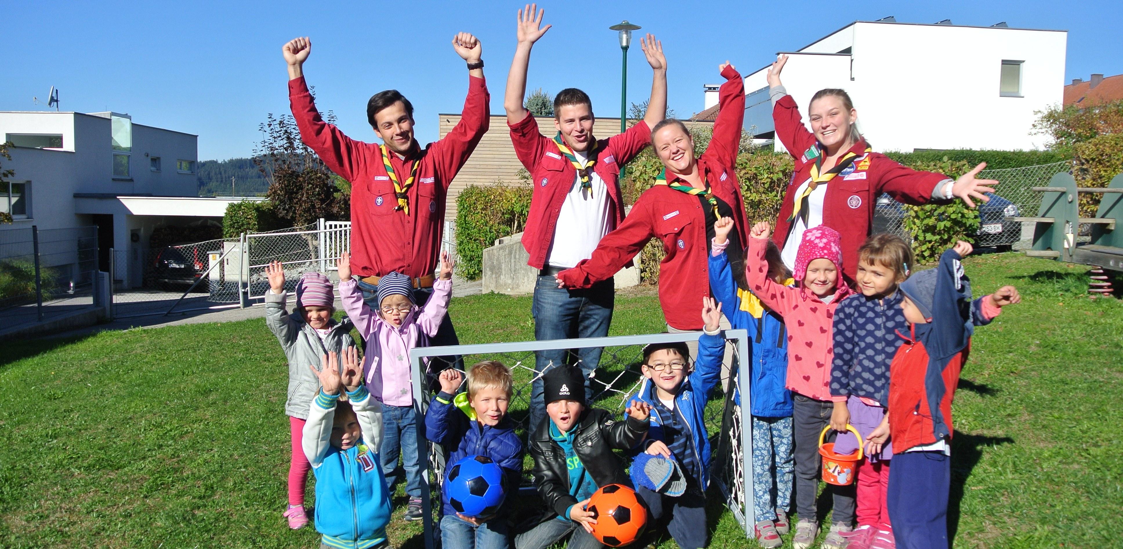 Fussballtor Kindergarten2