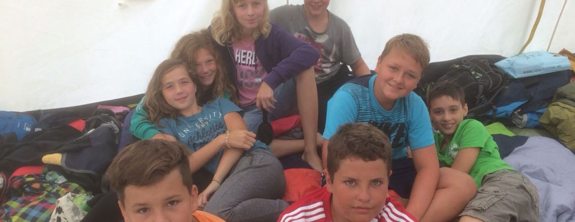 Sommerlager der GuSp 1 in St. Georgen im Attergau – HOME 2018