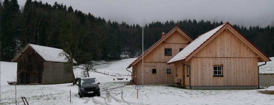 Winterlager der CAEX 2 in Odelboding/Hausruck