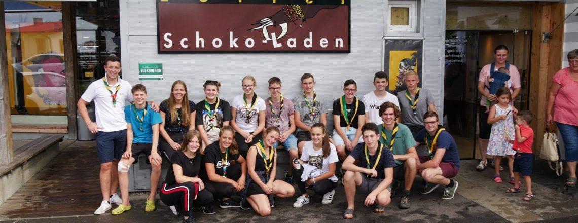 Sommerlager der CaEx 2 – Österreichrundreise